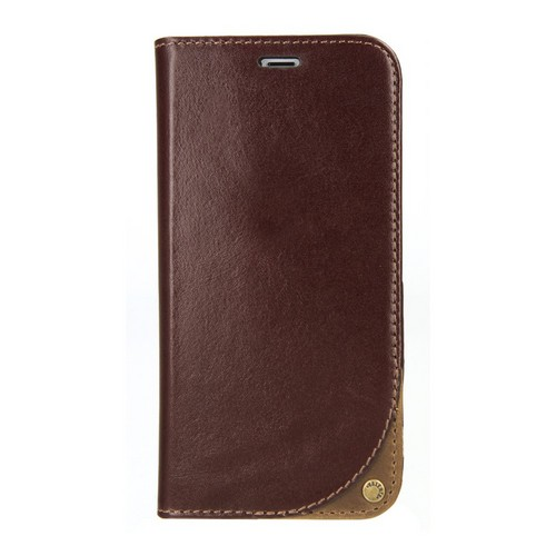 Valenta Leather Booklet Supreme - iPhone X/XS - brown