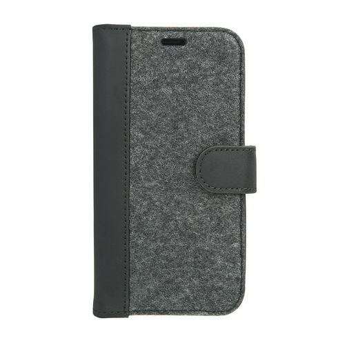 Valenta Leather Booklet Raw -iPhone X/XS  - vintage black