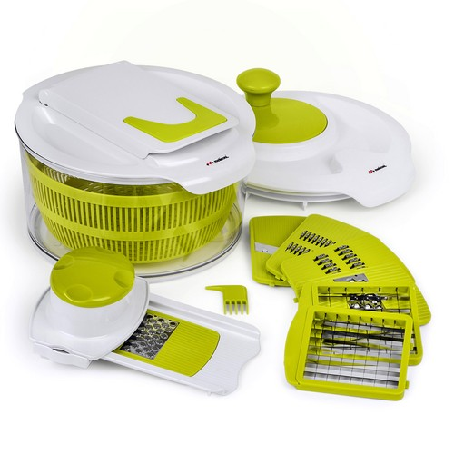 Meli Chef - Multi-Purpose Salad Spinner