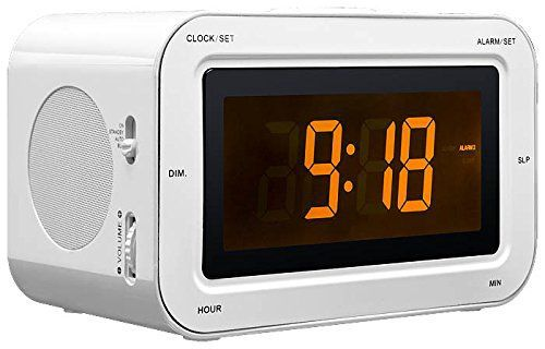 Bigben - Alarm Clock Radio RR30 - Kids [white]