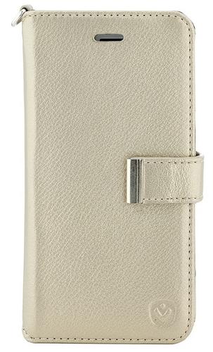 Valenta Leather Booklet Premium - iPhone 7/8 - gold