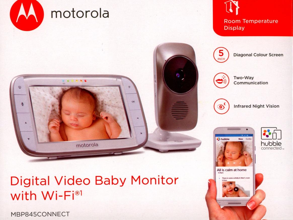 motorola mbp845 connect digital video baby monitor 5 0 inch lcd. Black Bedroom Furniture Sets. Home Design Ideas