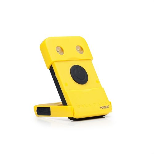 Waka Waka Power+ - Solar Powered Charger + Light [3000 mAh] - yellow