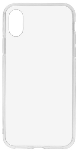 Scutes TPU Backcover - iPhone X - transparent