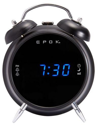 Bigben - Dual Radio Alarm Clock RR90 epok - black