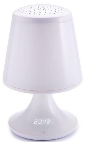 Bigben - Radio Alarm Clock lamp RRVP01 [incl. 2 projector discs]