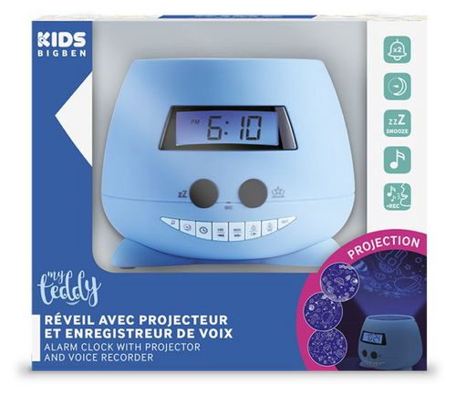 Bigben - Alarm Clock RPE01 my teddy - blue [incl. projector]