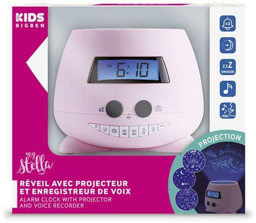 Bigben - Alarm Clock RPE02 my stella - pink [incl. projector]