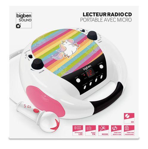 Bigben - Radio CD Player CD52 - unicorn