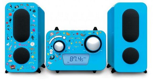 Bigben - Stereo Music Center MCD11 kids - blue