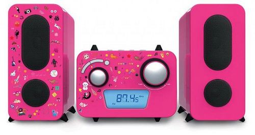 Bigben - Stereo Music Center MCD11 kids - pink