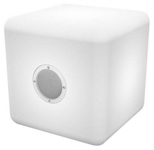 Bigben - Outdoor Speaker Color Cube [LED/BT3.0] - L