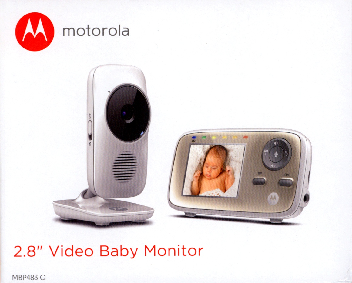 motorola mbp 483 digital video baby monitor. Black Bedroom Furniture Sets. Home Design Ideas