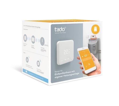 Tado Smart Thermostat - Starter Kit (v3) incl. Extension Kit [CH]