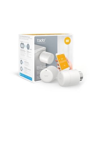 Tado Smart Radiator Thermostat [Horizontal Mounting] - Starter Kit [CH]