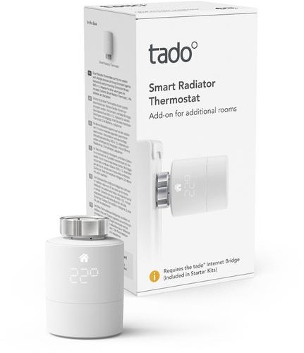 Tado Smart Radiator Thermostat - Single Pack / SRT-1
