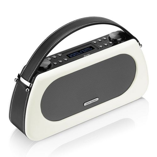 VQ Bardot DAB+/ BT Radio - black and white