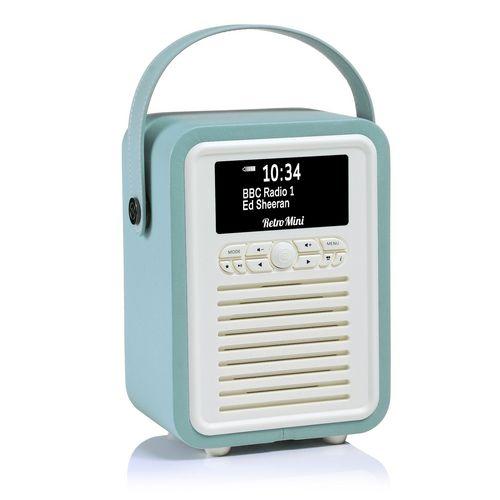 VQ Retro Mini DAB+/ BT Radio - mint