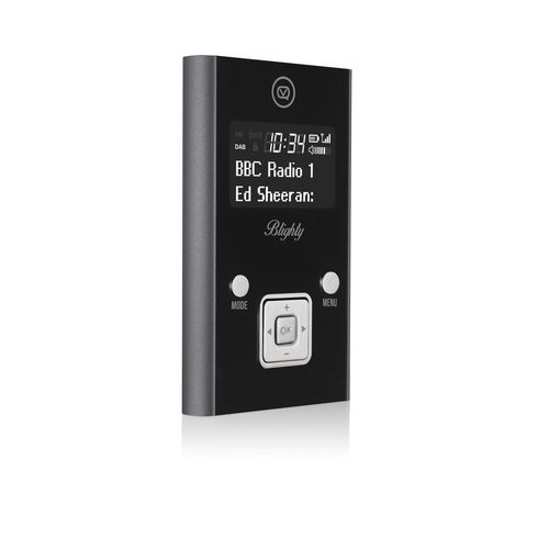 VQ Blighty DAB+/ FM Pocket Radio - black