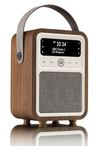VQ Monty DAB+/ BT Radio - walnut