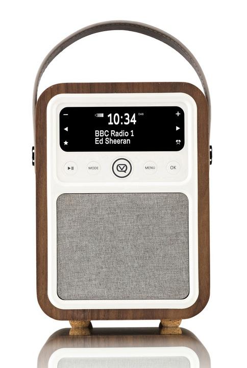 vq monty dab bt radio walnut bluetooth lautsprecher online kaufen. Black Bedroom Furniture Sets. Home Design Ideas