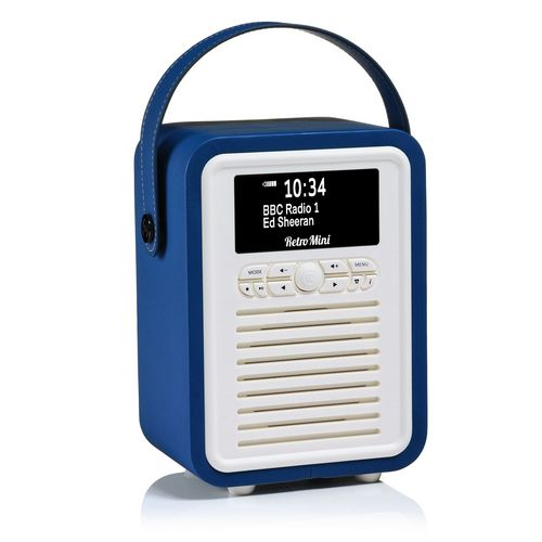 VQ Retro Mini DAB+/ BT Radio - navy