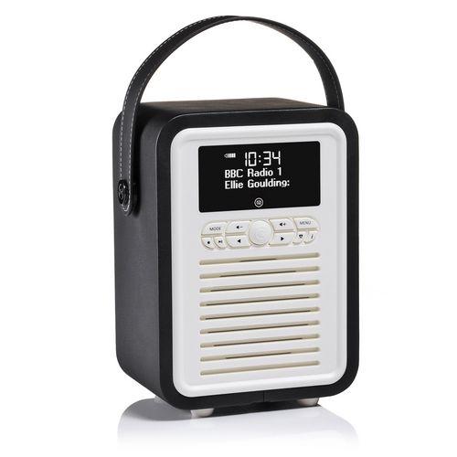 VQ Retro Mini DAB+/ BT Radio - black