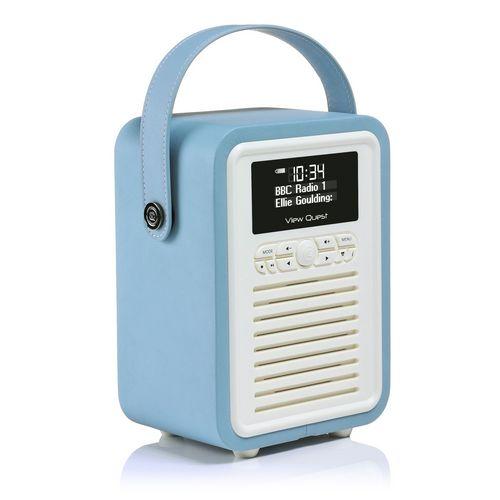 VQ Retro Mini DAB+/ BT Radio - blue