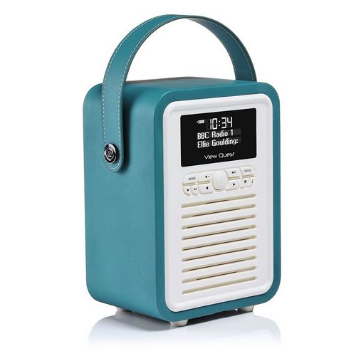 VQ Retro Mini DAB+/ BT Radio - teal