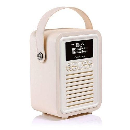 VQ Retro Mini DAB+/ BT Radio - cream