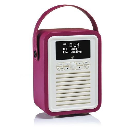 VQ Retro Mini DAB+/ BT Radio - purple