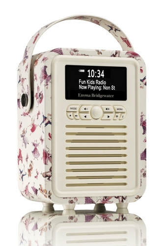 VQ Retro Mini DAB+/ BT Radio - Dancing Mi