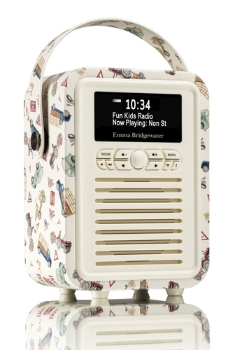 VQ Retro Mini DAB+/ BT Radio - MenAtWork