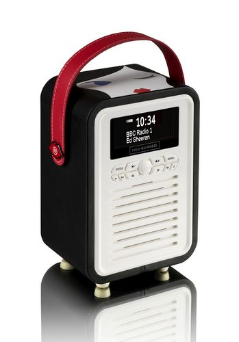 VQ Retro Mini DAB+/ BT Radio - Doll Face