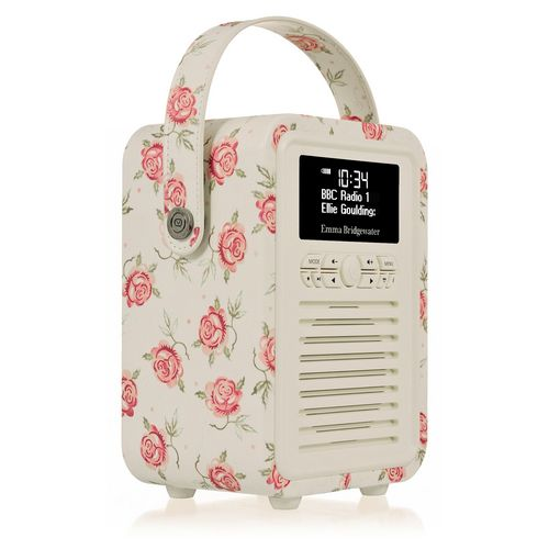 VQ Retro Mini DAB+/ BT Radio - Rose&Bee