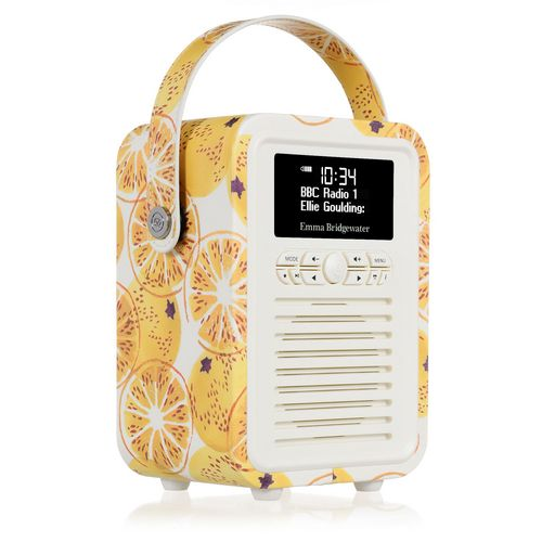 VQ Retro Mini DAB+/ BT Radio - Marmalade