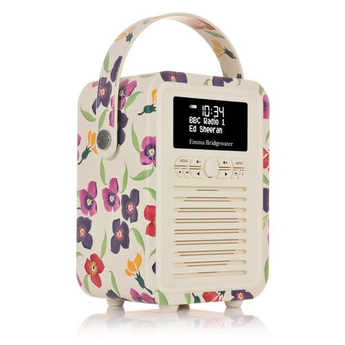 VQ Retro Mini DAB+/ BT Radio - Wallflower