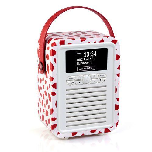 Bild VQ Retro Mini DAB+/ BT Radio - Red Lip
