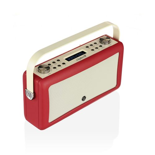 VQ Hepburn MkII DAB+/ BT Radio - red