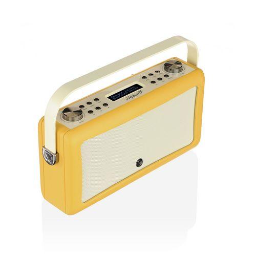 VQ Hepburn MkII DAB+/ BT Radio - mustard