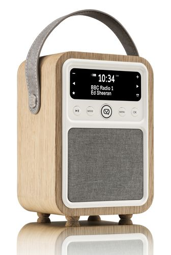 VQ Monty DAB+/ BT Radio - oak