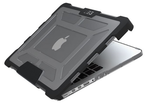 UAG Plasma Display- Macbook Pro 13 inch A1502 Retina - ash (transparent)