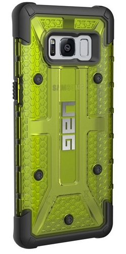 UAG Plasma Case - Samsung Galaxy S8 - citron (transparent)