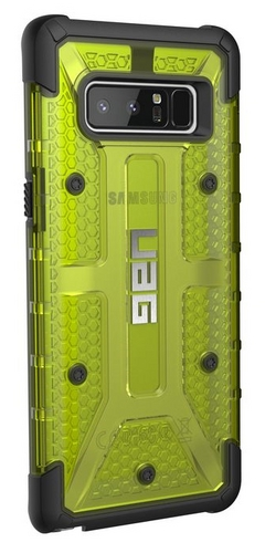 UAG Plasma Case - Samsung Galaxy Note 8 - citron (transparent)