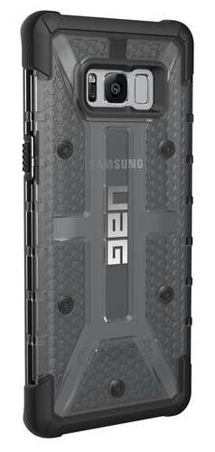 UAG Plasma Case - Samsung Galaxy S8+ - ash (transparent)
