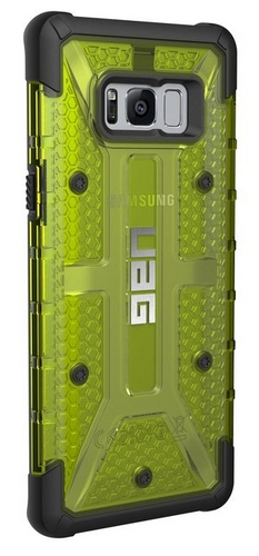 UAG Plasma Case - Samsung Galaxy S8+ - citron (transparent)