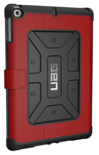 UAG Metropolis Case - iPad (2017  9.7 screen) - magma (red)