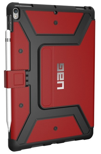 UAG Metropolis Case - iPad Pro 10.5 - magma (red)