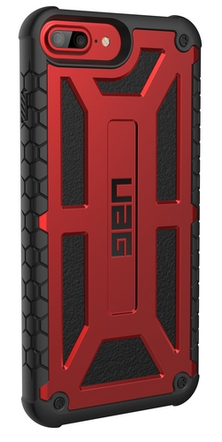 UAG Monarch Case - iPhone X (5.8 Screen) - crimson
