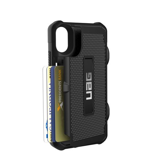 UAG Trooper Case - iPhone X (5.8 Screen) - black